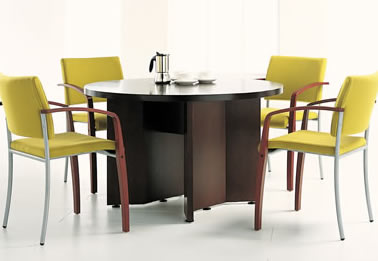 Circular Meeting Table Office Furniture